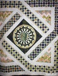 Monterey Medallion Quilt Pattern by Monterey Medallion Quilted By Harriet A Retired