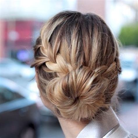 braided hairstyles on instagram braided bun hairstyles from instagram stylecaster
