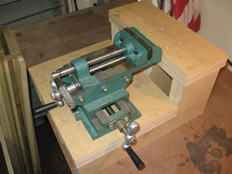 cross  vise  benchtop mortiser page  router