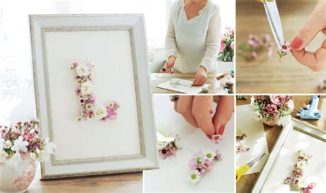Mothers Day Handmade Gifts - floral arrangement letter card and bath salts handmade