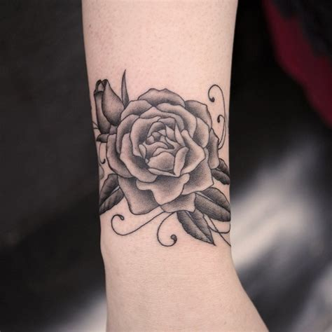 black rose tattoo on wrist black tattoos designs ideas and meaning tattoos