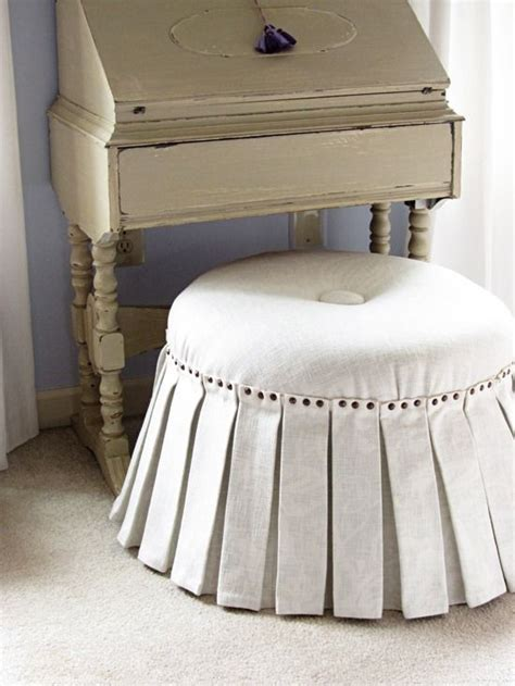 how to make an ottoman 90 best images about reupholster or slipcover it on