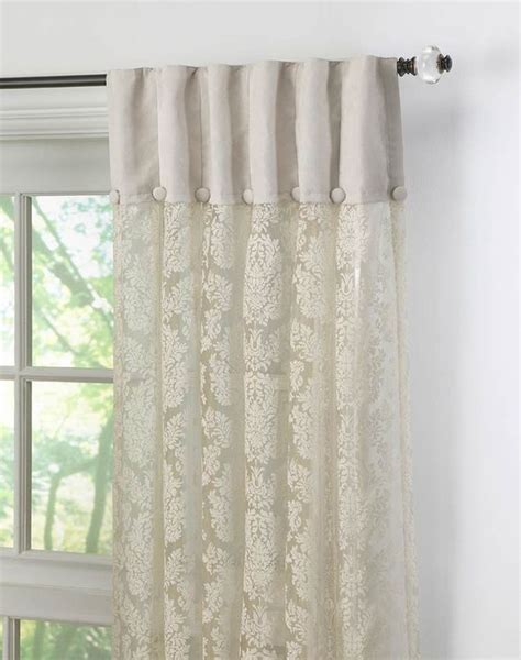 display curtains this is a unique way to show off lace curtains the top