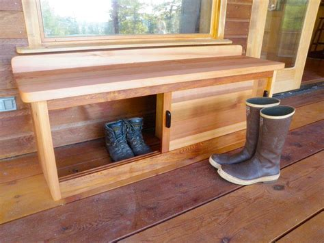 outdoor bench with shoe storage bench with storage for front porch a great idea shoes