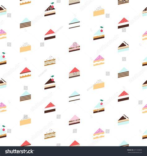 seamless pattern cake cake pattern seamless background vector stock vector