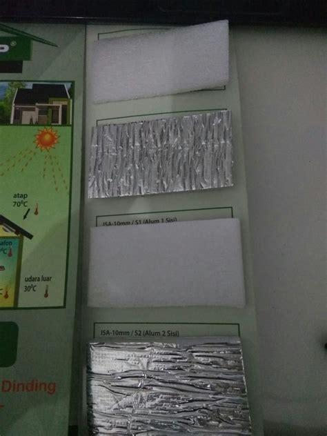 Foam Side Tapesolasi Busa Dobel alumunium foil dalam bagian komponen atap baja ringan