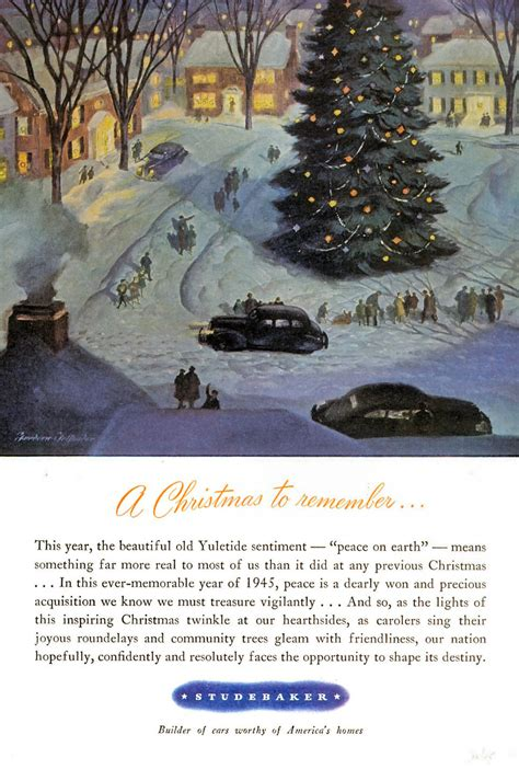 great classic christmas car ads historic vehicle
