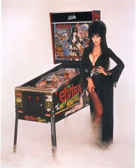 elvira and the monsters pinball machine elvira and the monsters pinball machine bally 1989