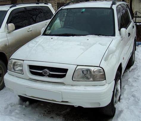 Suzuki Escudo 1998 1998 Suzuki Escudo Pictures