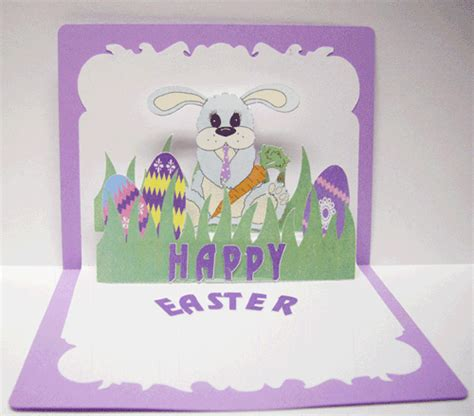 pop up easter card templates paper pulse spot easter delights and more going on