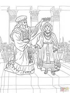 King Joash Coloring Page coloriage le roi joas couronn 233 coloriages 224 imprimer