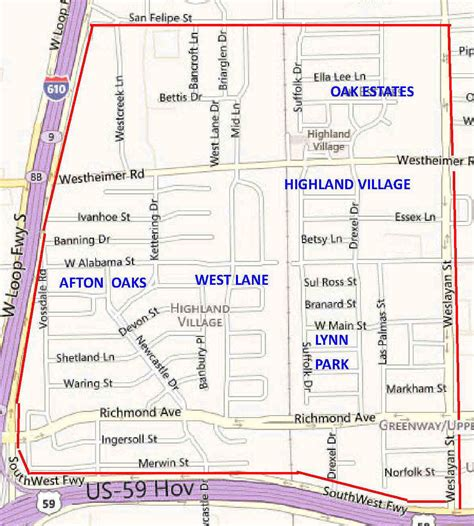 map of highland park texas highland area real estate houston tx luxury neighborhoods