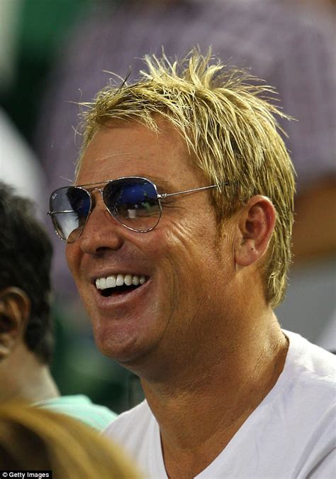 does shane warne wear a hair shane warne i ve had some really bad hairstyles daily