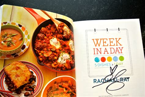 rachael ray week in a day italian comfort food read this rachael ray s week in a day cookbook