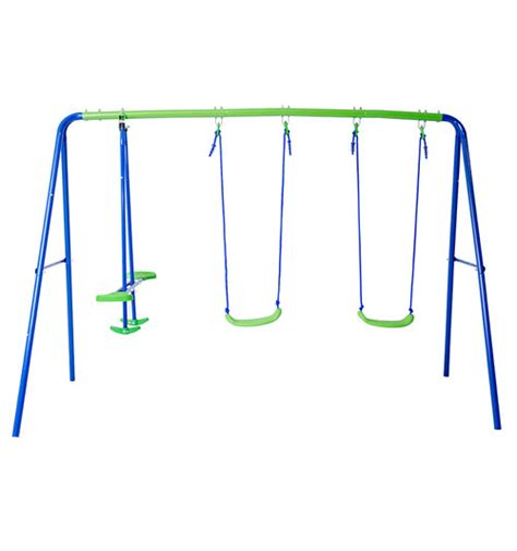 small metal swing sets small outdoor metal swing playset swing set troline