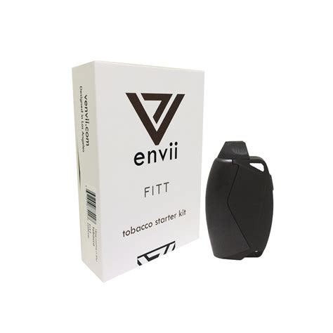 4 Empty Pods For Envii Fitt tobacco starter kit by envii electric tobacconist 174