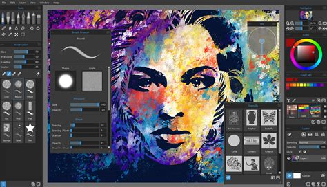 painting software rebelle real media paint software