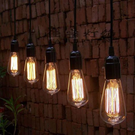 Dining Room Lights With Edison Bulbs Vintage Edison Bulb Pendant L Bulb Chandeliers Pendant