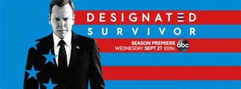 designated survivor logo designated survivor abc tv show ratings cancel or season 3