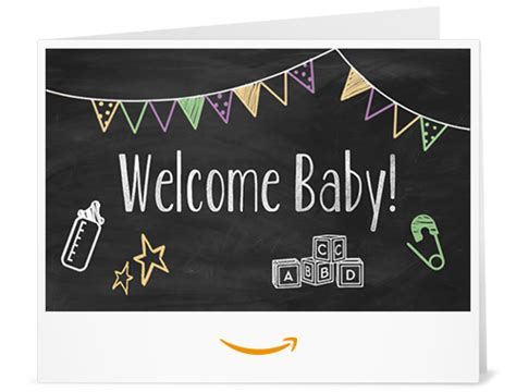 Print Out Amazon Gift Card - amazon ca gift card print baby chalk amazon ca gift cards