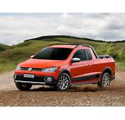 2014 Volkswagen Saveiro Cross Is A Funky Brazilian Pickup Video