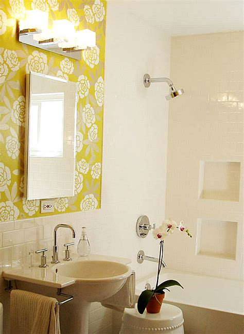 Bathroom Stencil Ideas back to 20 elegant bathroom makeover ideas
