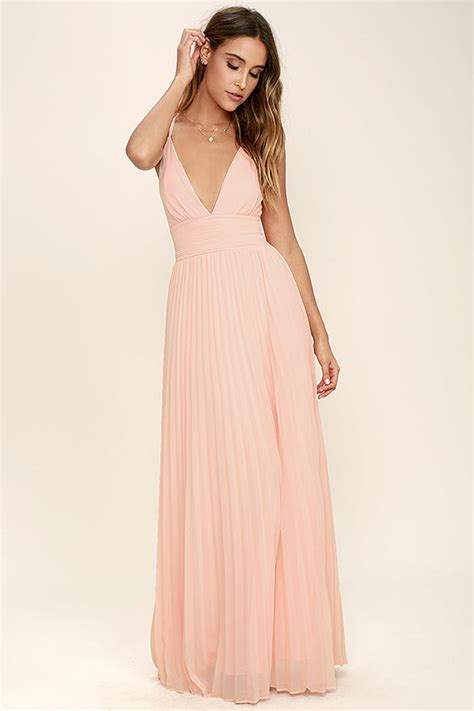 chagne colored prom dresses stunning dress pleated maxi dress gown