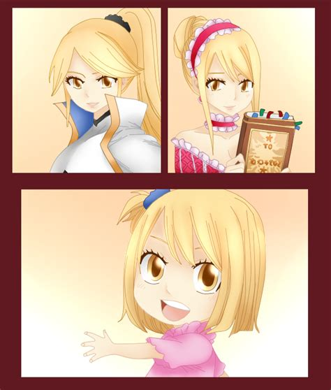 lucy and anna anna layla and lucy fairy tail 530 by fairytailfan100