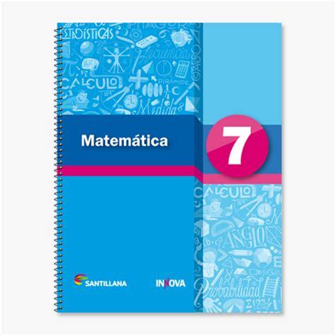 libros de matematica 7mo grado pdf s 233 ptimo grado santillana