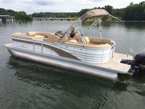 used pontoon boats for sale charlotte nc new and used boats for sale in north carolina
