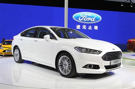 ford 1 5 ecoboost ford mondeo 1 5 litre ecoboost shanghai motor show 2013