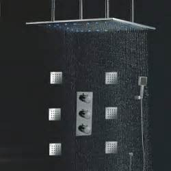 rainfall ceiling shower review