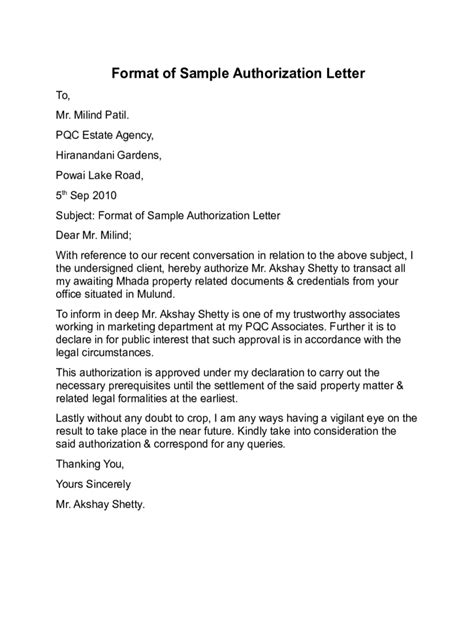 sle of letter of authorization sale third authorization letter wendy shaw