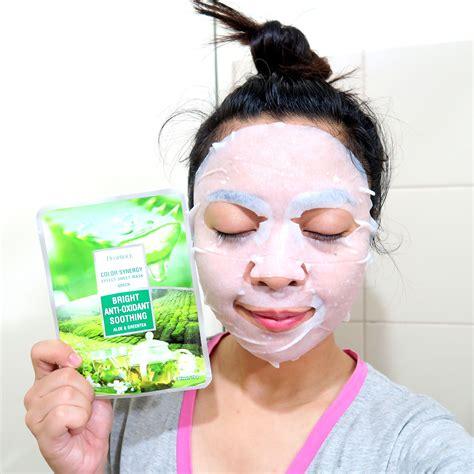 Deoproce Color Synergy Sheet Mask Green watsons mask revolution challenge watsonskbeauty zel she sings top