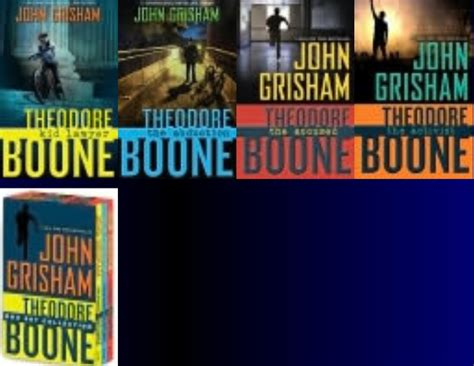 Theodore Boone Box Set theodore boone series by grisham best sellers on