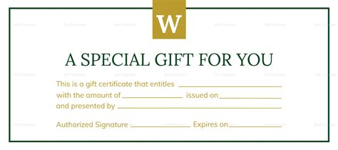 gftlz gift certificate template gftlz gift certificate template images