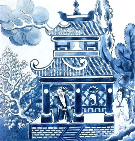 willow pattern art ideas china craft unbound