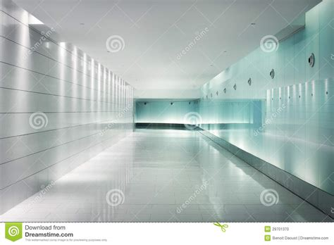 lighted glass walls   underground futuristic
