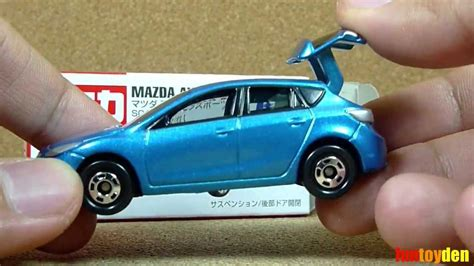 Mazda Axela Sport Diecast Mobil Tomica By Takara Tomy mazda axela sport takara tomy tomica die cast car