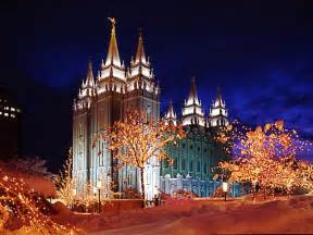 salt lake city lights lights temple square salt lake city utah