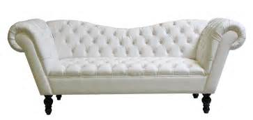 Awesome white leather sofa decorated with tufted accents could be
