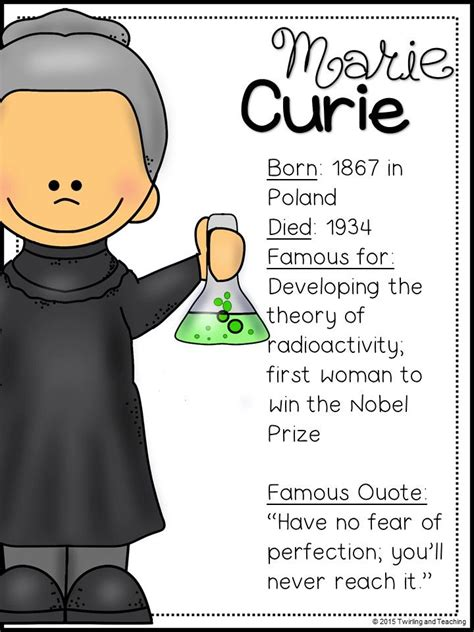 marie curie biography for students marie curie biography pack women s history marie curie