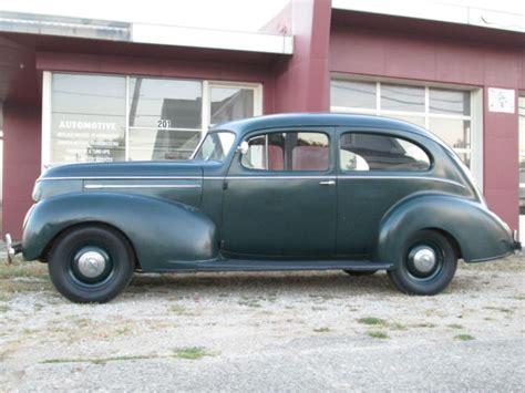 One Door Hudson Oh by 1939 Hudson 2 Door Sedan 36k Original For Sale In