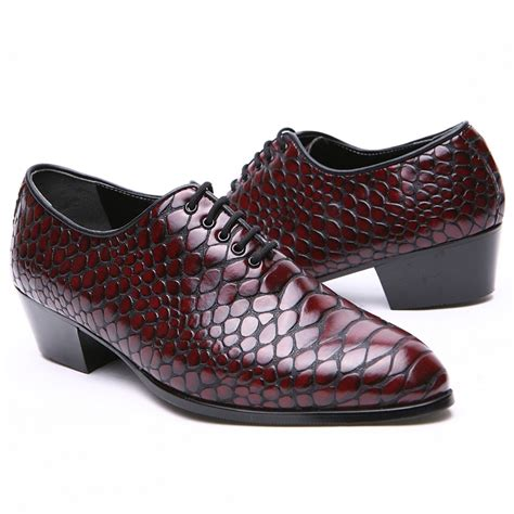 high heeled oxford shoes s pointed toe snake embossed high heels oxfords