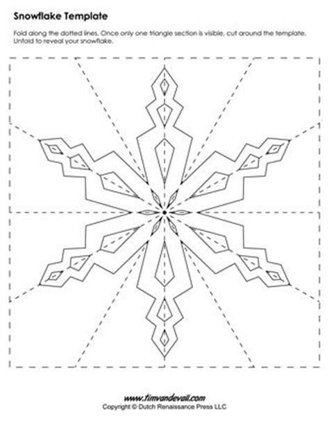large printable snowflake template 25 best ideas about snowflake template on pinterest