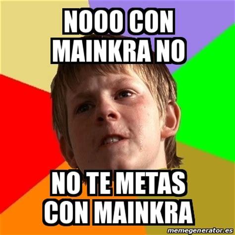 Meme Html - meme chico malo nooo con mainkra no no te metas con