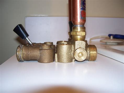Leaking Washing Machine Faucet by Leaking Oatey Washing Machine Shutoff Valve Ridgid