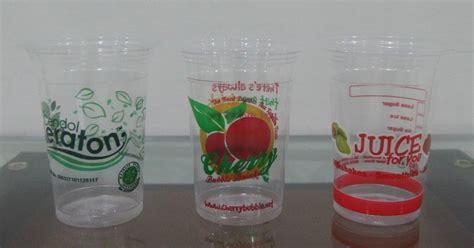Plastik Cup cp printing cup gelas plastik surya plastik