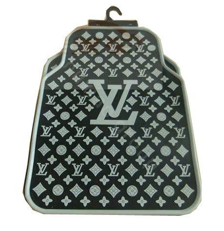 Set Black Lv buy wholesale lv universal automobile carpet car floor mat