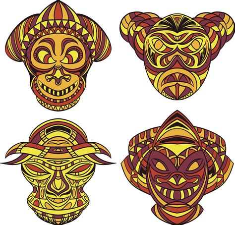 tribal mask tattoos intricate aztec tattoos and their mythical meanings